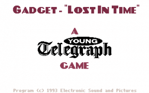 Gadget: Lost in Time 0