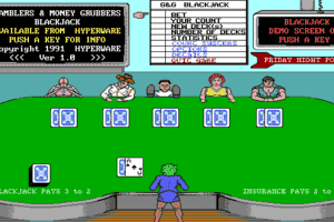 Gamblers And Money Grubbers - Blackjack abandonware