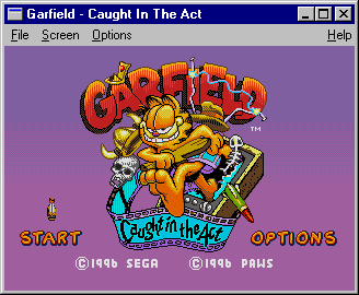 Garfield: Caught in the Act 0