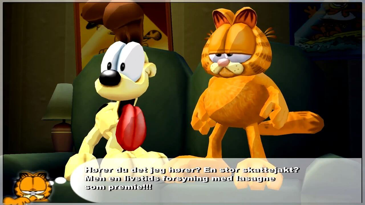 Download Garfield Lasagna World Tour Windows My Abandonware