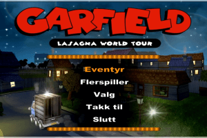 Garfield: Lasagna World Tour 0