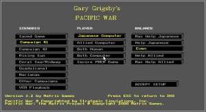 Gary Grigsby's Pacific War abandonware