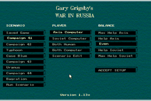 Gary Grigsby's War in Russia 1