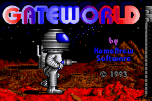 Gateworld: The Home Planet 0