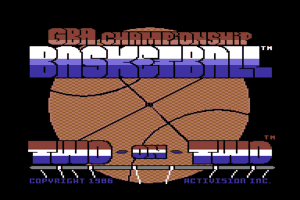 GBA Championship Basketball: Two-on-Two 1