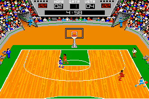 GBA Championship Basketball: Two-on-Two 6