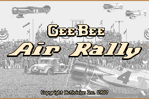 Gee Bee Air Rally 0