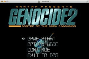 Genocide 2: Master of the Dark Communion 1