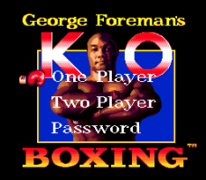 George Foreman's KO Boxing 0