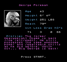 George Foreman's KO Boxing 2