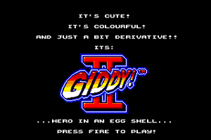 Giddy II: Hero in an Egg Shell 0