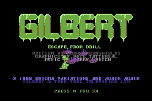 Gilbert: Escape from Drill 1