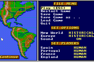 Gold of the Americas: The Conquest of the New World abandonware