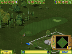 Golf Resort Tycoon II abandonware