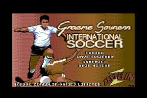 Graeme Souness International Soccer 0