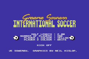 Graeme Souness International Soccer 1