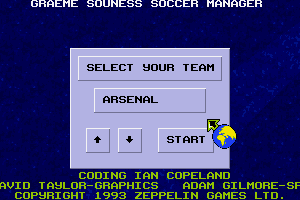 Graeme Souness Soccer Manager abandonware