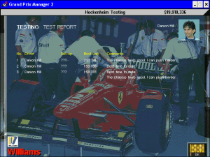 Grand Prix Manager 2 22