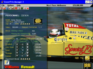Grand Prix Manager 2 3