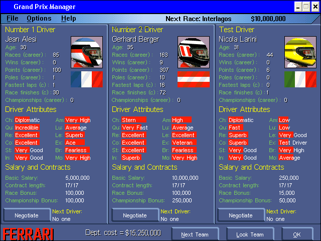 Grand Prix Manager 9