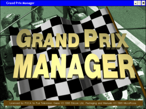 Grand Prix Manager 0
