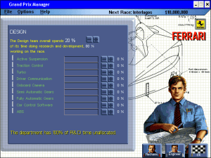 Grand Prix Manager 22