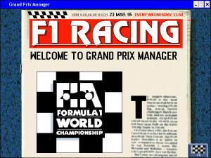 Grand Prix Manager 24