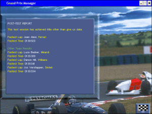 Grand Prix Manager 30