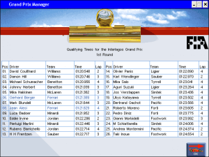 Grand Prix Manager 33