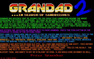Grandad 2: In Search of Sandwiches 2