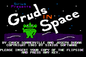 Gruds In Space abandonware