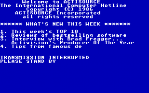 Hacker II: The Doomsday Papers abandonware