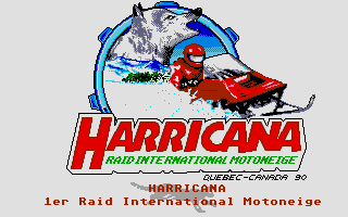 Harricana: International Snowmobile Race - Quebec-Canada 90 0