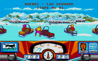 Harricana: International Snowmobile Race - Quebec-Canada 90 2
