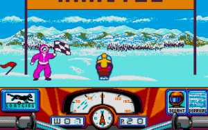 Harricana: International Snowmobile Race - Quebec-Canada 90 abandonware