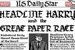 Headline Harry and The Great Paper Race 1