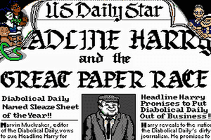 Headline Harry and The Great Paper Race abandonware