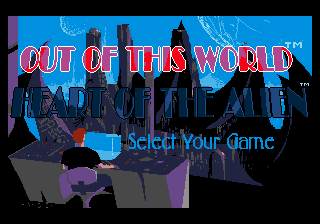 Heart of the Alien: Out of this World parts I and II 1