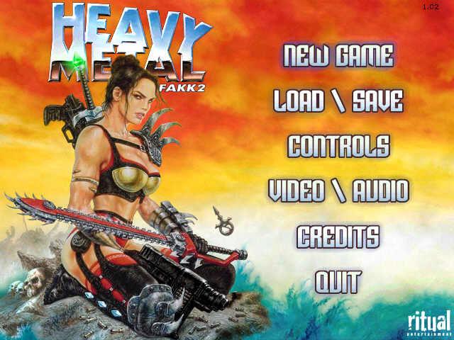 heavy metal fakk 2 mac download