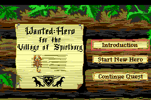 Hero's Quest: So You Want To Be A Hero 3