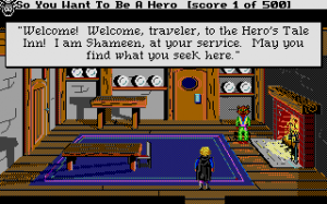 Hero's Quest: So You Want To Be A Hero abandonware