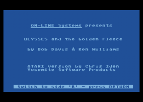 Hi-Res Adventure #4: Ulysses and the Golden Fleece 0
