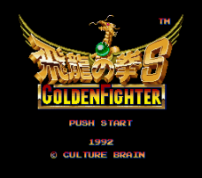 Hiryū No Ken S: Golden Fighter 0
