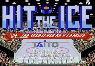 Hit the Ice: The Video Hockey League 0