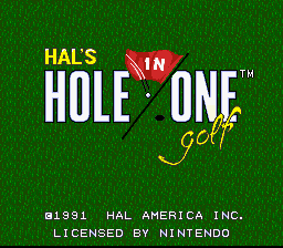 Hole in One 0