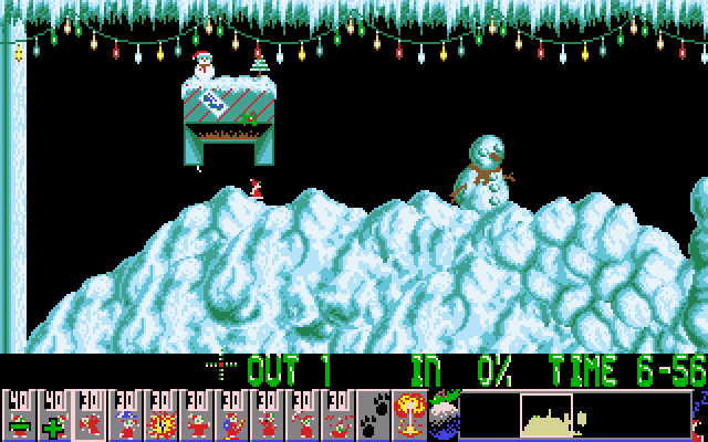Holiday Lemmings 17