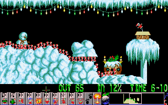 Holiday Lemmings 18