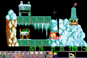 Holiday Lemmings 11