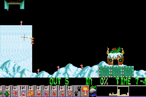 Holiday Lemmings 14