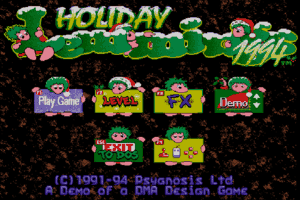 Holiday Lemmings 5